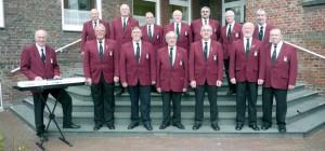 Die Gesangsgruppe des Isselburger Blasorchesters